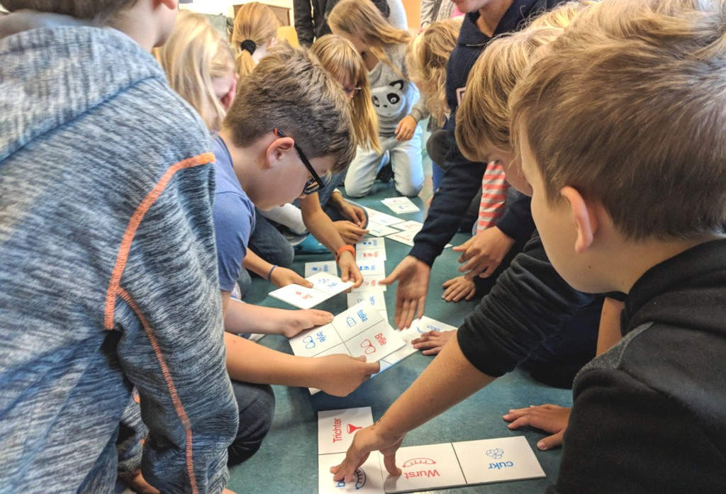 Sprachanimation an der Oberschule Falkenstein 2019